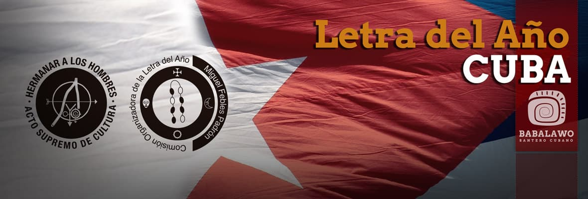 Letras del Año de Cuba y Oke Itase Nigeria